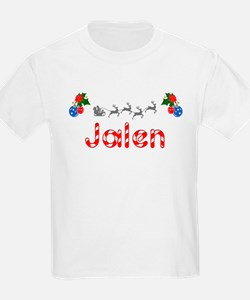 Jalen, Christmas T-Shirt