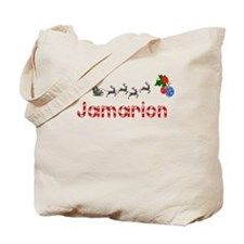Jamarion, Christmas Tote Bag