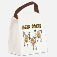 Math Rocks Canvas Lunch Bag