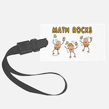 Math Rocks Luggage Tag