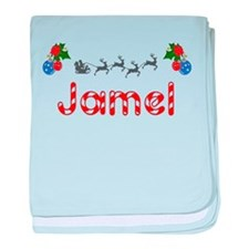 Jamel, Christmas baby blanket