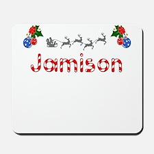 Jamison, Christmas Mousepad