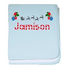 Jamison, Christmas baby blanket