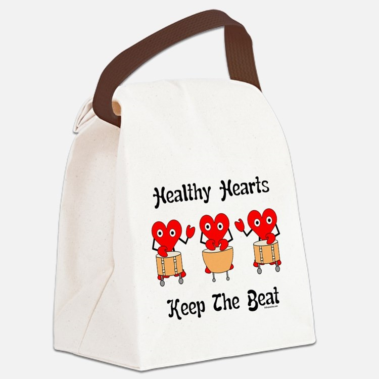 Cute Medical education Canvas Lunch Bag