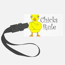 Chicks Rule Luggage Tag