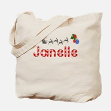 Janelle, Christmas Tote Bag