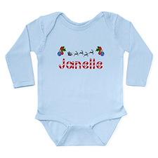 Janelle, Christmas Onesie Romper Suit