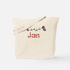 Jan, Christmas Tote Bag