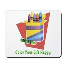 A Happy Life Mousepad