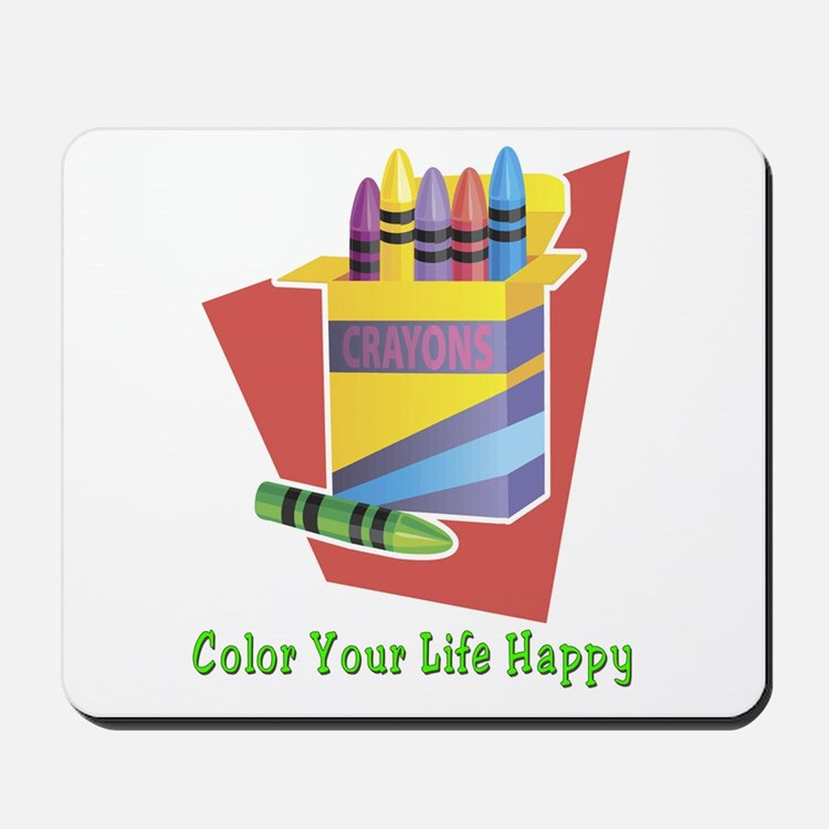 A Happy Life Mousepad