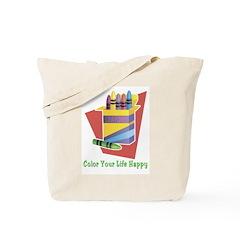A Happy Life Tote Bag