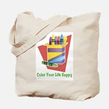 A Happy Life Tote Bag