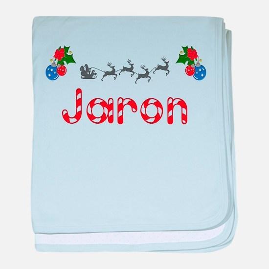 Jaron, Christmas baby blanket