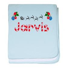 Jarvis, Christmas baby blanket