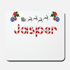 Jasper, Christmas Mousepad