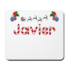 Javier, Christmas Mousepad