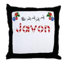 Javon, Christmas Throw Pillow