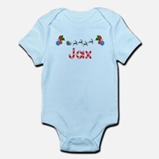 Jax, Christmas Infant Bodysuit