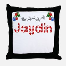 Jaydin, Christmas Throw Pillow