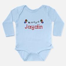 Jaydin, Christmas Long Sleeve Infant Bodysuit