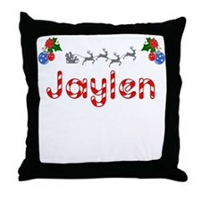 Jaylen, Christmas Throw Pillow