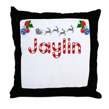 Jaylin, Christmas Throw Pillow