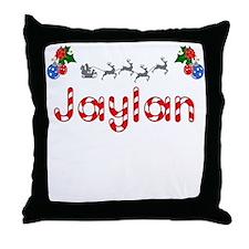 Jaylan, Christmas Throw Pillow