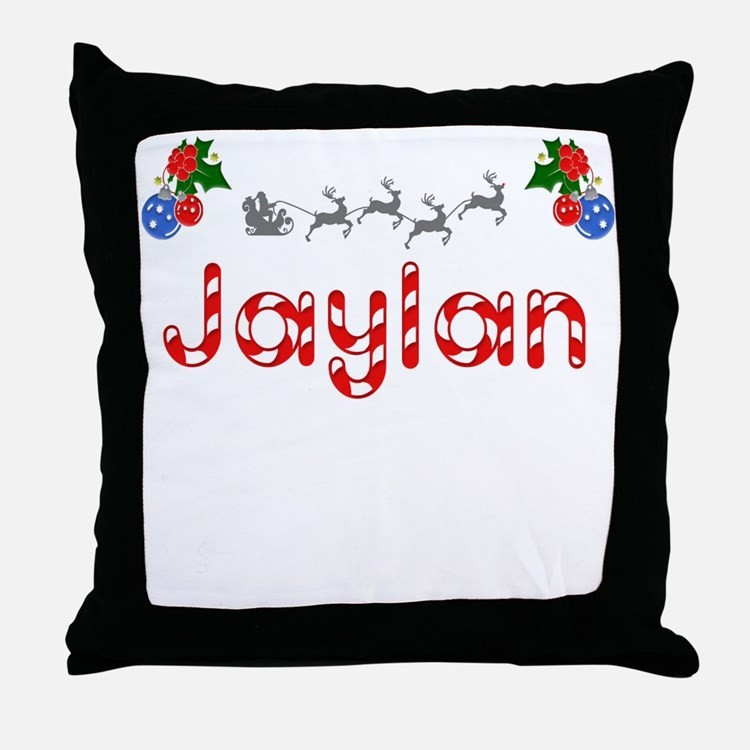 Jaylan, Christmas Throw Pillow