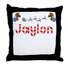 Jaylon, Christmas Throw Pillow