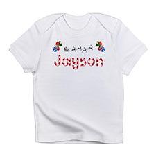 Jayson, Christmas Infant T-Shirt