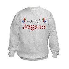 Jayson, Christmas Sweatshirt