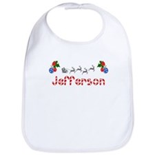 Jefferson, Christmas Bib