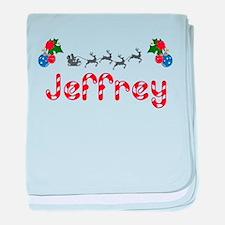 Jeffrey, Christmas baby blanket