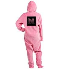 N-silveronblackCeltic.jpg Footed Pajamas