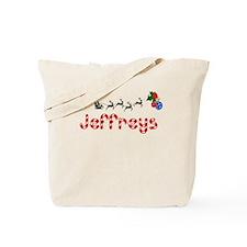 Jeffreys, Christmas Tote Bag