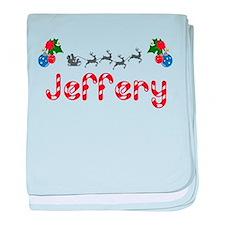 Jeffery, Christmas baby blanket