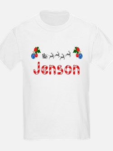 Jenson, Christmas T-Shirt