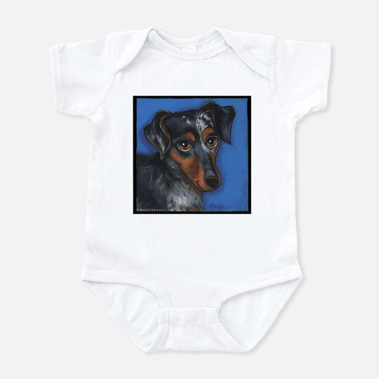 Dachshund Brindle Infant Bodysuit