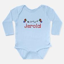 Jerold, Christmas Long Sleeve Infant Bodysuit
