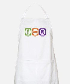 Eat Sleep History BBQ Apron