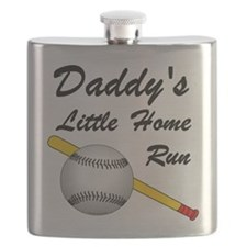 Dad's Home Run Flask