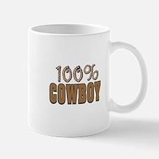 100% Cowboy Mug