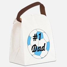 Number 1 Dad Canvas Lunch Bag