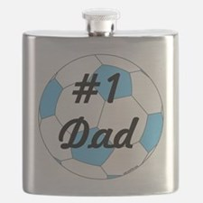 Number 1 Dad Flask