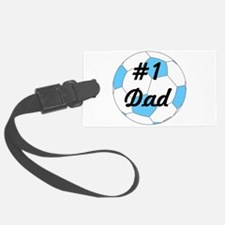 Number 1 Dad Luggage Tag