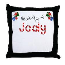 Jody, Christmas Throw Pillow