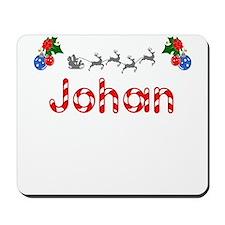 Johan, Christmas Mousepad