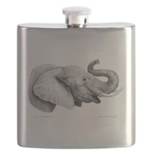 Lucky Elephant ~ Flask