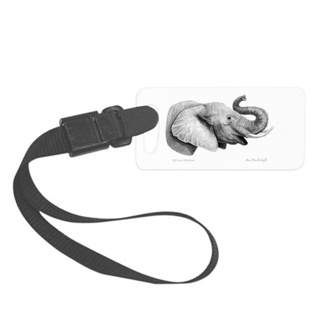 Lucky Elephant ~ Small Luggage Tag