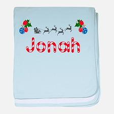 Jonah, Christmas baby blanket